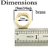 "Pro Bamboo Kitchen 12pcs 1/4"" Female Thread Brass"