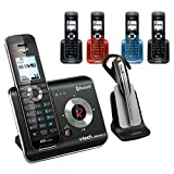 Vtech DS6472-6 DECT 6.0 Digital 5-Handset Cordless Phone Answering System