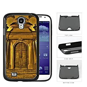 Chateau Gold Castle Door Hard Plastic Snap On Cell Phone Case Samsung Galaxy S4 SIV I9500