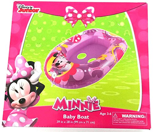 Disney Minnie Mouse Inflatable Kids Float Baby Boat Age 3 -