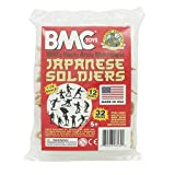 BMC Classic Marx Japanese Plastic Army Men - 32pc