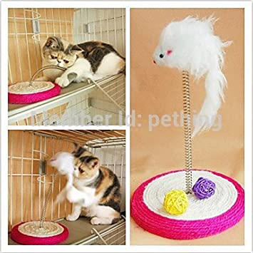 Yuver (TM) divertidos juguetes para gatos mascotas Juguetes para Mascotas rat¨®n