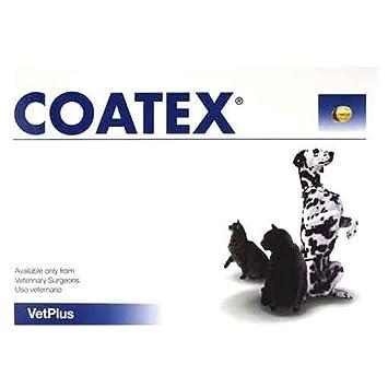 VETPLUS Coatex 4 Blisters con 60 Comprimidos - Total: 240 Comprimidos: Amazon.es: Productos para mascotas