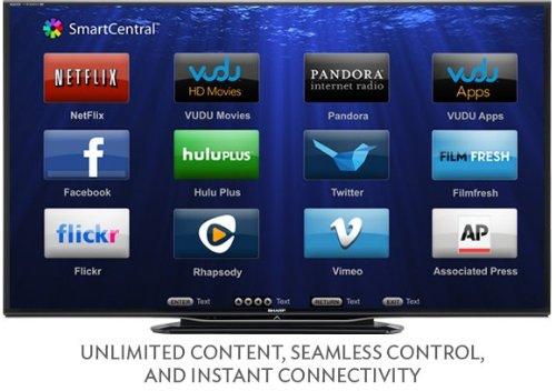 70 sharp aquos 1080p led tv