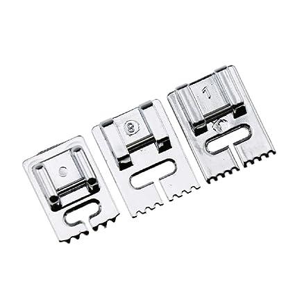 Prensatelas para máquina de coser de chakil fino y grueso, accesorios para máquinas de coser