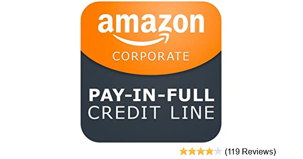 amazon com amazon com corporate credit line pay in full credit
