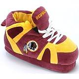 Comfy Feet Men's Washington Redskins 01 Indoor Slippers,Burgundy/Gold,M M US
