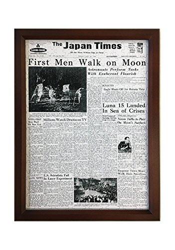 フレーム付き新聞パズル(315ピース) アポロ11号 月面着陸(1969年)紙面 [The B0797PQ8PY Japan Times公認]【お誕生日新聞】 アポロ11号 B0797PQ8PY, 瀬谷区:8fef4d85 --- ero-shop-kupidon.ru