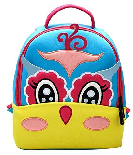 La Vogue Kids Backpack Waterproof 3D Cartoon Nursery Bag Children Rucksack Cute School Bag School Season Gift for Boys Girls ()