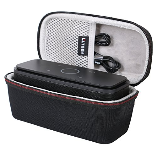 LTGEM Case For DOSS Touch Wireless Bluetooth V4.0 Portable Speaker with HD Sound and Bass (Black)