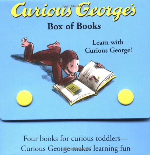 Curious George's Box of Books (Curious George Book Set)
