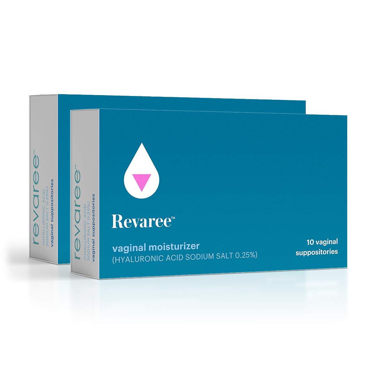 Bonafide – Revaree Hyaluronic Acid for Vaginal Dryness – Non-Hormonal, Paraben-Free (20 Vaginal Inserts)