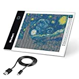 Wsdart A4 LED Light Pad for Diamond Painting