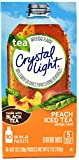 Crystal Light On The Go Peach Iced Tea, 10-Packet Box (Pack of 28)