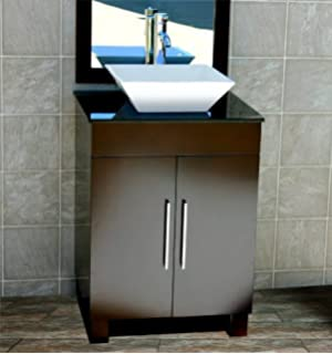 Fantastic Kitchen Bath And Beyond Tampa Thin Cleaning Bathroom With Bleach And Water Shaped Bathroom Faucets Lowes Bathroom Vanities Toronto Canada Young Bathroom Expo Nj ColouredTiled Bathroom Shower Photos 24\u0026quot; Bathroom Vanity Solid Wood Cabinet White Tech Stone Top Vessel ..