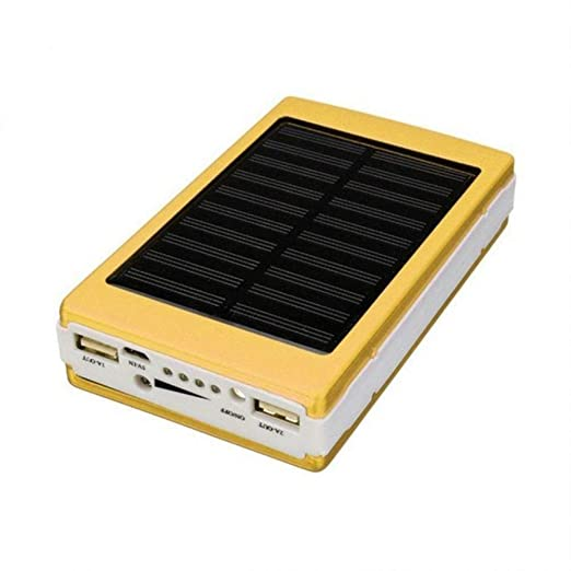 JXFS Solar Power Bank 20000mAh Cargador Solar portátil ...