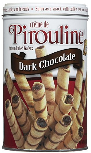 Pirouline Artisan Rolled Wafers - Dark Chocolate - 14 ()