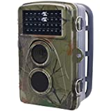 std Trail Camera For Deer Hunting With 65ft Night Vision, 0.2S Toggle and 2.31 LCD Screen to Replay
