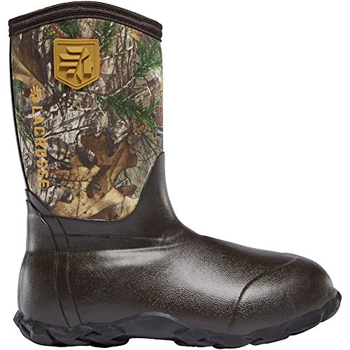 Lacrosse Youth Lil' Alpha Lite 9IN 1000G Insulated Boot Realtree Xtra 12 by Lacrosse