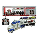 F1 Hauler Semi-Trailer 1:24 Electric RTR 628 4CH RC Truck Series(color may vary)