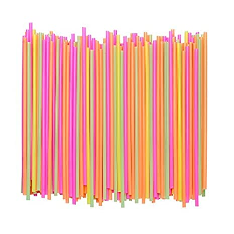 5 Inch Sip Stir Stick Disposable Plastic Coffee Stirrer Straw Brown, 1,000