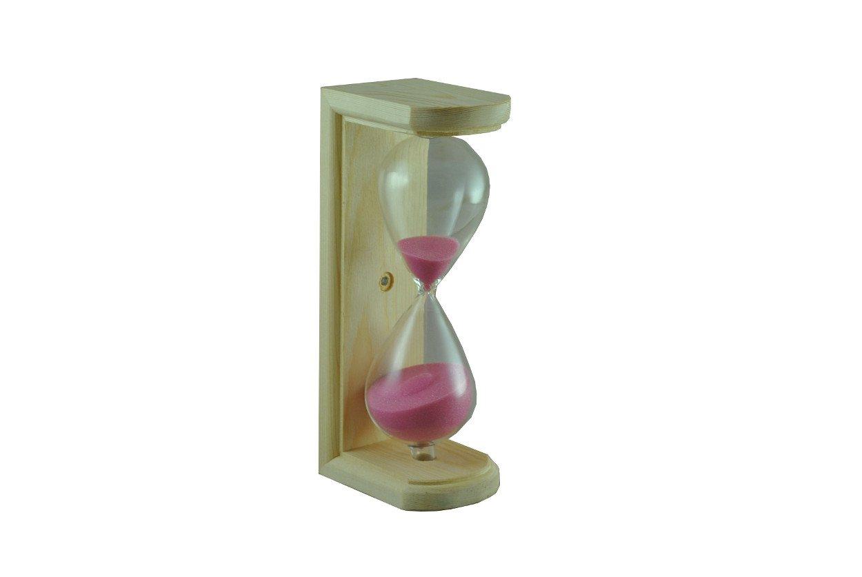 Northern Lights Group Pine Sauna Hour Glass Timer- Pink Sand Heaters4Saunas