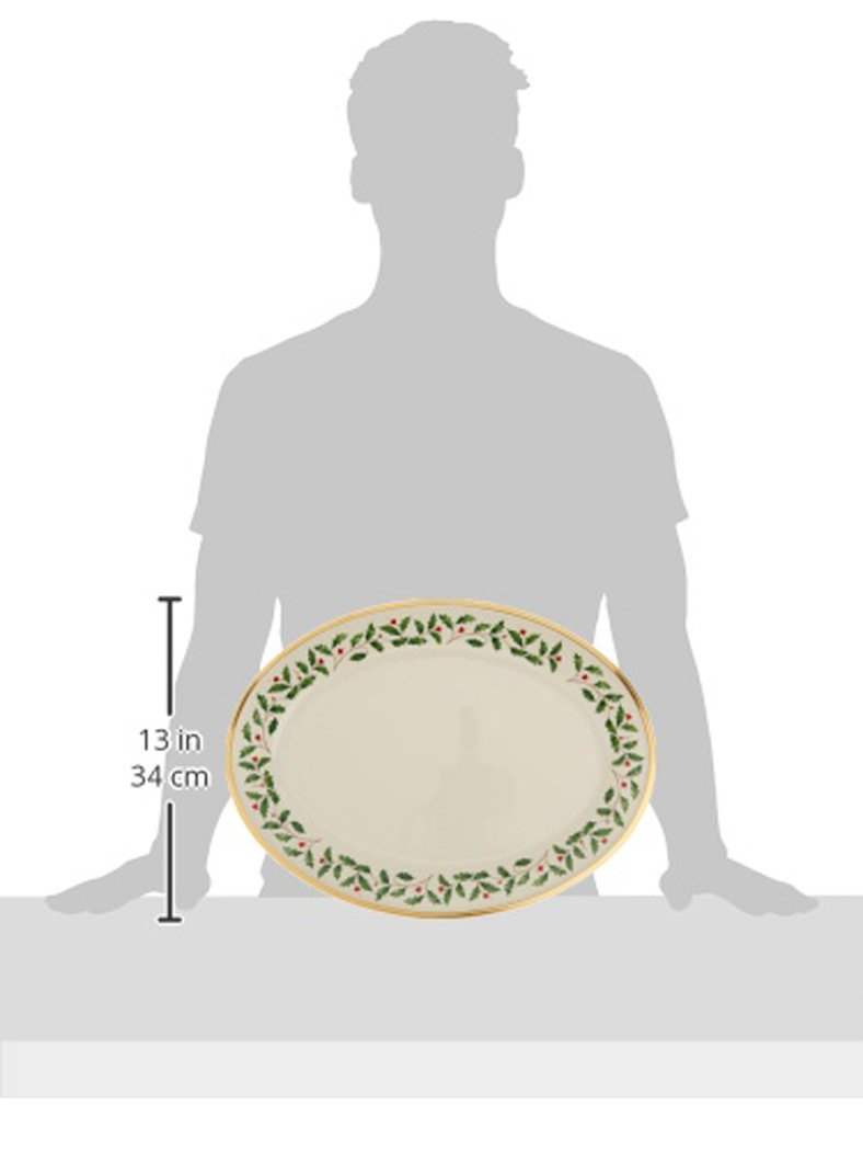 Lenox Holiday 16'' Oval Platter