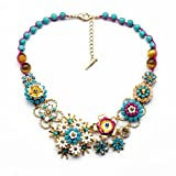 Fun Daisy New Design Jewelry Vintage Flower Retro Fashion Necklace
