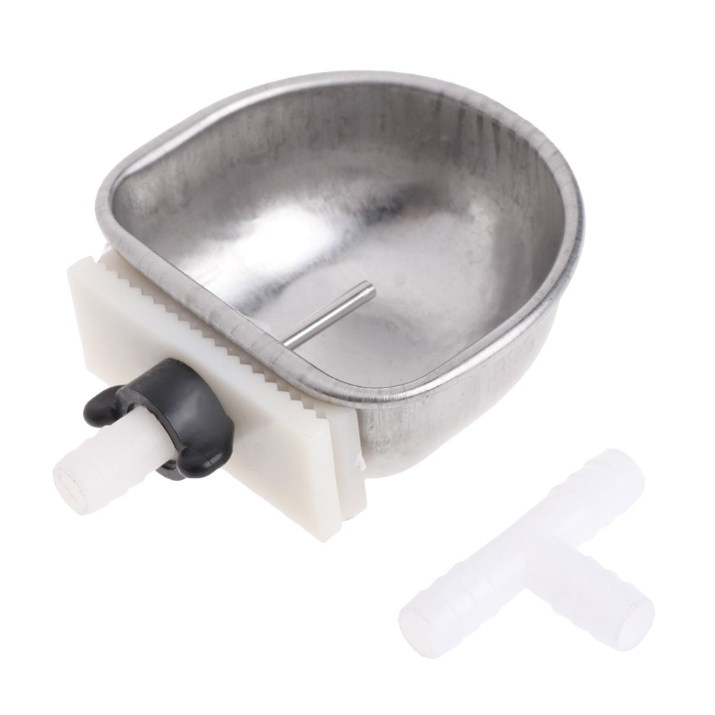 Onpiece Rabbit Stainless Steel Automatic Drinker Water Feeder with T Joint (#1)