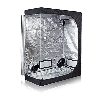 Hongruilite 24''x24''x48'' 36''x20''x63'' 32''x32''x63'' 48''x24''x60'' 48''x24''x72'' 48''x48''x78'' 96''x48''x78'' Hydroponic Indoor Grow Tent Room w/Plastic Corner