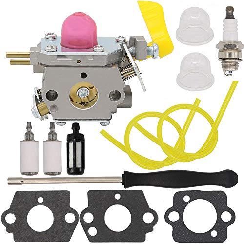 Yooppa C1U-W45 545180811 Carburetor with Primer Bulb for Poulan BVM210VS SM210VS Leaf Blower