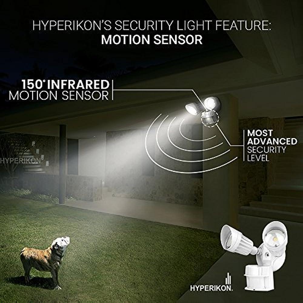 Led White Security Light Motion Sensor 20w 100 Watt