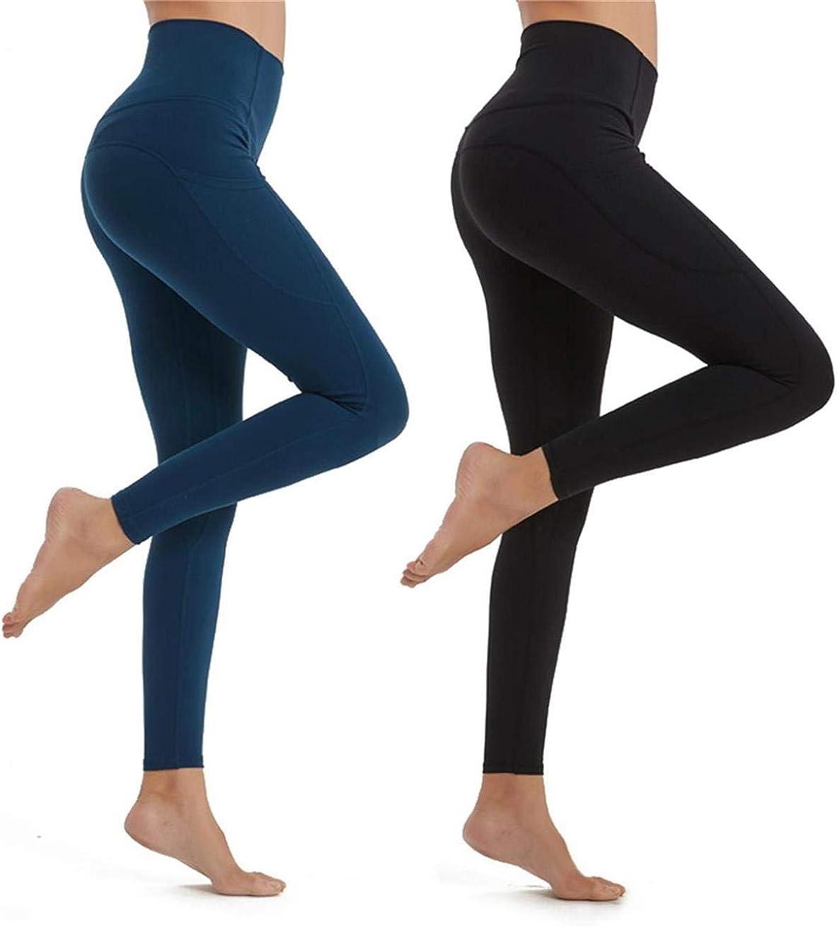 CMYRY Gym Super High Waist Yoga Pants, Pocket Yoga Pants, Tummy Control, Workout Running 4 Way Stretch Yoga Leggings