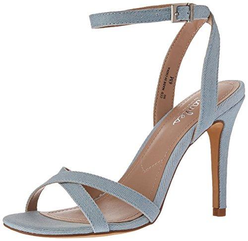 Charles by Charles David Women's Rome Heeled Sandal, Light Blue, 6.5 M US