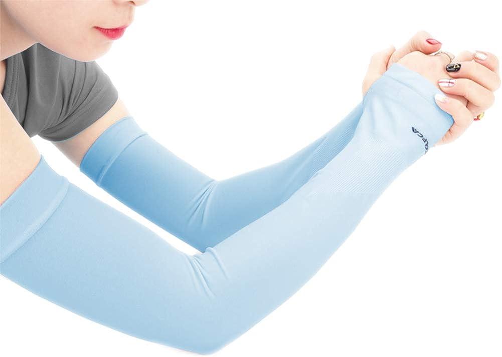 UV Protezione Solare Di Raffreddamento Dei Manicotti Del Braccio Di Compressione Sport Manica Per Outdoor Uomo Donna
