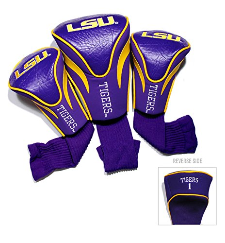 LSU Contour Sock Headcovers (3 pack) (3 Contour Sock Headcovers)