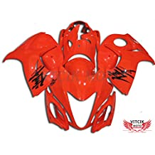 VITCIK (Fairing Kits Fit for Suzuki GSXR1300 GSX-R 1300 GSXR 1300 Hayabusa 2008 - 2015) Plastic ABS Injection Mold Complete Motorcycle Body Aftermarket Bodywork Frame (Red) A025