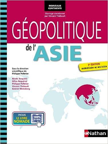 Livre GEOPOLITIQUE DE L'ASIE 3ED pdf, epub ebook
