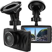 Dash Cam Bymore In Car Camera DVR Full HD 1080P,3 LCD Screen,170°Wide Angle Dashboard Camera Recorder with WiFi&App,Night Vision,G-sensor, Motion Detection