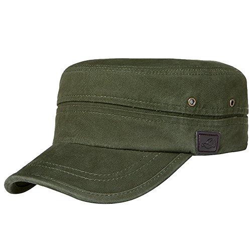 Green Military Cap - 1