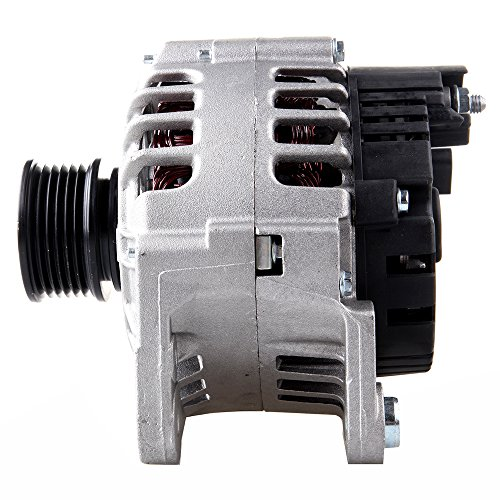 2003 Volkswagen Jetta Alternators - Scitoo Alternators 13852 fit Seat Cordoba Ibiza Leon Toledo 2001-2005 Volkswagen VW Beetle Eurovan Golf 2003-2007 90A/12V CW 6 Groove Pulley ABO0193