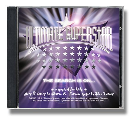 Price comparison product image Ultimate Superstar - A Musical for Kids (Listening CD)