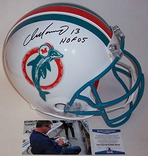 Dan Marino Autographed Hand Signed Miami Dolphins Throwback Full Size Authentic Pro Helmet - BAS ()