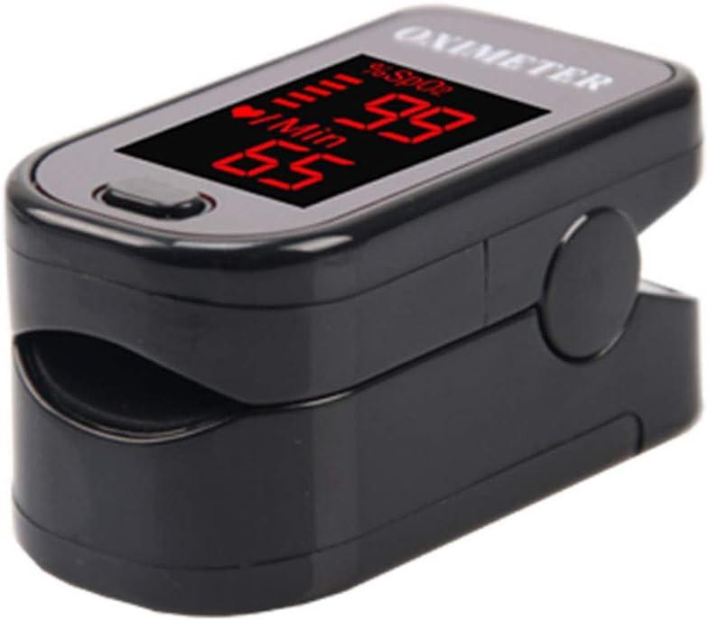 Dedo Oxímetro Oxígeno Médico Portátil Medidor de sangre Pulso Monitor UV Dedo(color enviado al azar debido a la gran demanda)