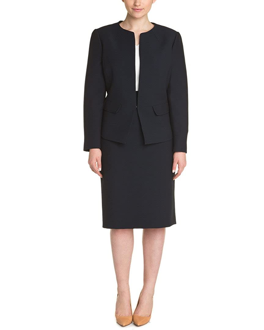 Tahari By Arthur S. Levine Womens Tahari Asl Plus Skirt Suit, 16W