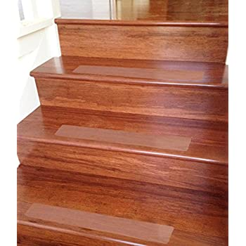 Ottomanson Pst1000 14 Stair Tread 14 4x26 Clear Amazon