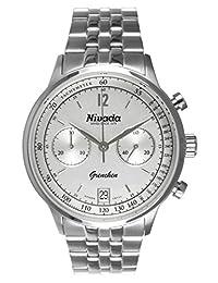 Nivada NP15804MACPI Reloj Análogo para Hombre, Redondo