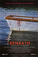 Original One Sheet from USA for Beneath from 2013. Condition: Very Good-Fine Rolled condition. Fessenden horror (signed by Larry Fessenden). Size: One Sheet, 27x41 inches. Film directed by Larry Fessenden and stars Daniel Zovatto.