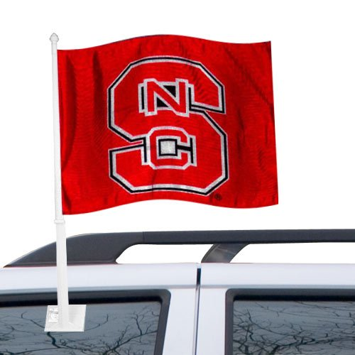 - NCAA North Carolina State Car Flag, One Size, Multicolor
