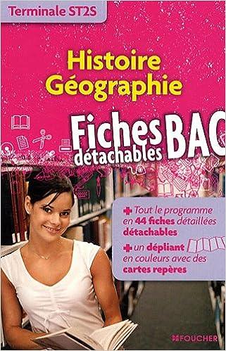Livres gratuits en ligne Histoire Géographie Tle ST2S pdf ebook